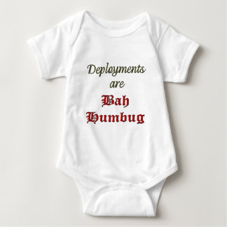 Deployments are Bah Humbug! Baby Bodysuit
