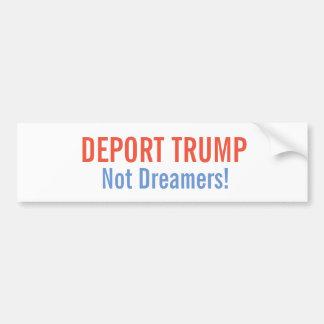 Deport Trump Bumper Sticker