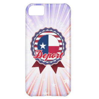 Deport, TX Case For iPhone 5C
