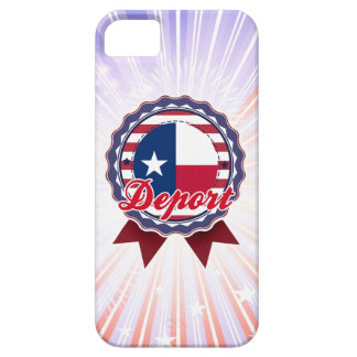 Deport, TX iPhone 5 Case