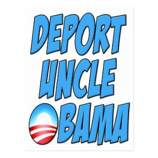 Deport Uncle Obama Postcard
