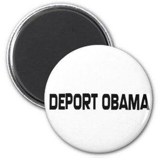 Deporte a Obama Imán Redondo 5 Cm
