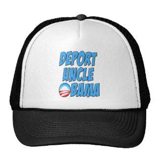 Deporte a tío Obama Gorros Bordados