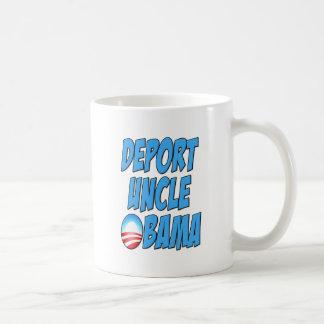Deporte a tío Obama Taza