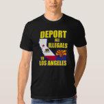 Deporte a todos los Illegals a Los Ángeles Remeras