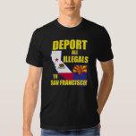 Deporte a todos los Illegals a San Francisco Remeras