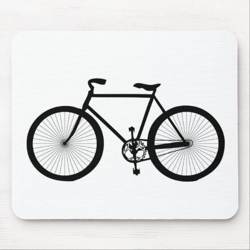 Deporte, afición, diversión, bicicleta del paseo alfombrillas de ratón