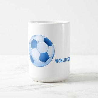 Deporte azul del fútbol del fútbol el | del mejor taza
