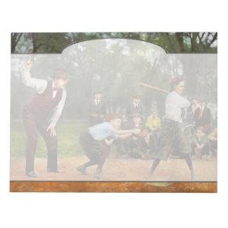 Deporte - béisbol - huelga una 1921 bloc de notas
