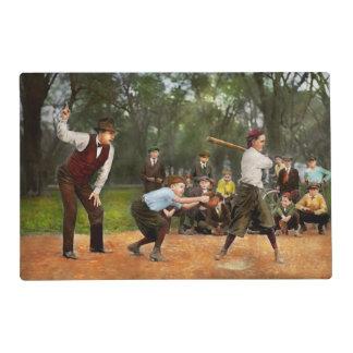 Deporte - béisbol - huelga una 1921 tapete individual