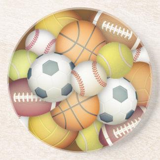 Deporte-bolas Posavasos Personalizados