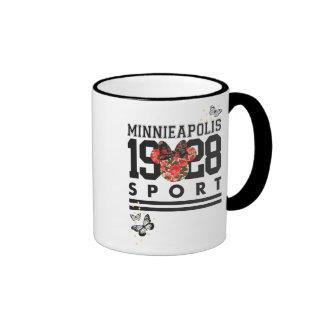 Deporte clásico 1928 de Minnie el | Taza De Dos Colores