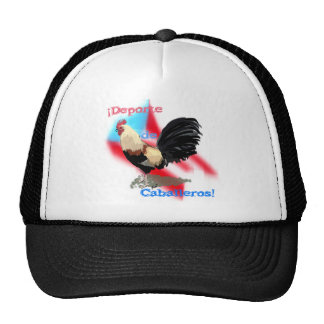 Deporte de Caballeros/Gentlemen Sport Hat