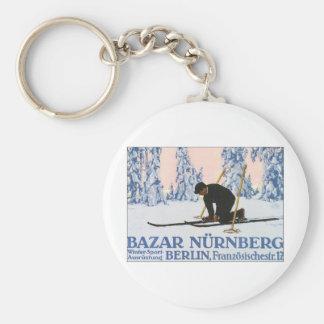 Deporte de invierno de Nurnberg del Bazar Llavero Personalizado