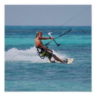 Deporte de Kiting Posters