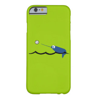 Deporte de Narwhal Zany Du Designs Children del Funda Para iPhone 6 Barely There