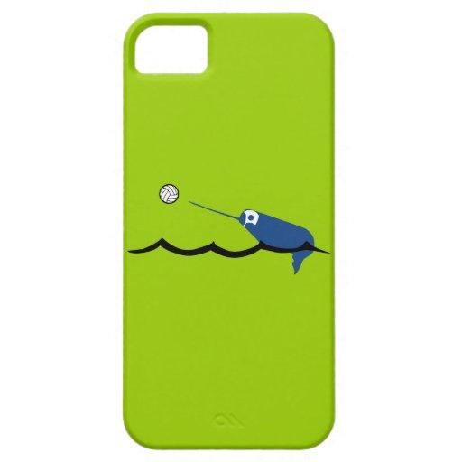 Deporte de Narwhal Zany Du Designs Children del wa iPhone 5 Cárcasas