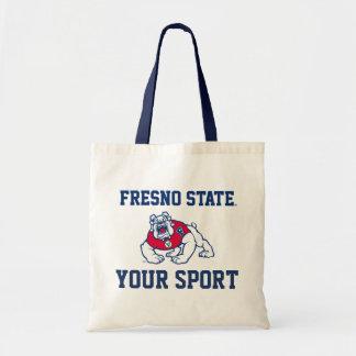 Deporte del estado de Fresno Bolsas Lienzo