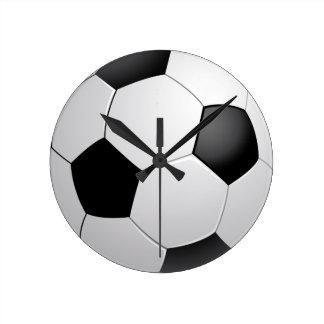 Deporte del fútbol/del fútbol reloj redondo mediano
