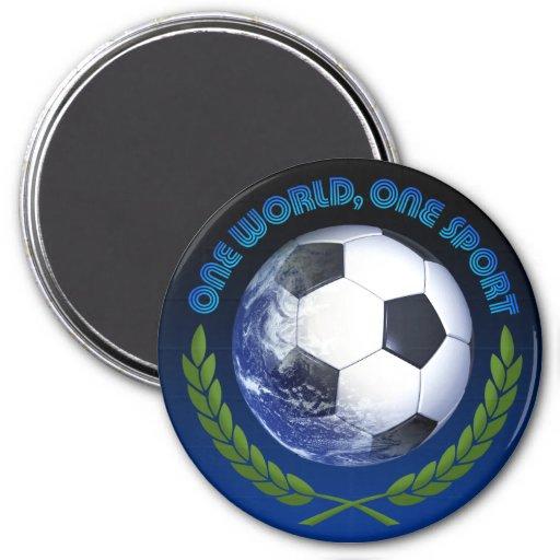 Deporte del mundo uno del mundial uno del Fifa Iman De Frigorífico