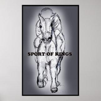 Deporte del poster de los reyes