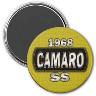Deporte estupendo de 68 Camaro Imán De Nevera