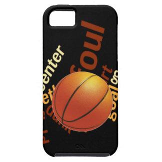 Deporte Fanatics.jpg del baloncesto de los aros iPhone 5 Carcasa