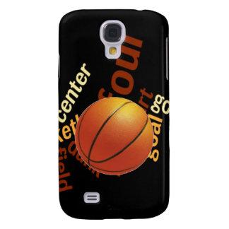 Deporte Fanatics.jpg del baloncesto de los aros Funda Para Galaxy S4