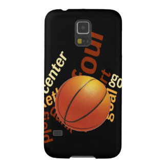 Deporte Fanatics.jpg del baloncesto de los aros Carcasas Para Galaxy S5