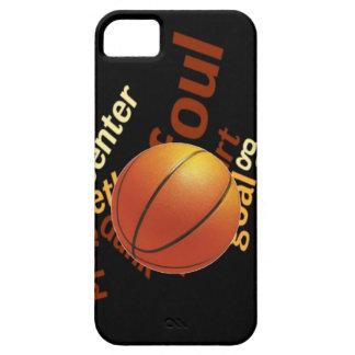 Deporte Fanatics.jpg del baloncesto de los aros iPhone 5 Fundas