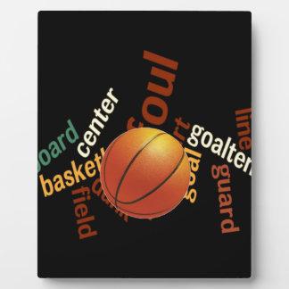 Deporte Fanatics.jpg del baloncesto de los aros Placas Para Mostrar