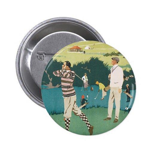 Deporte Golfing de los golfistas del golf de Escoc Pin