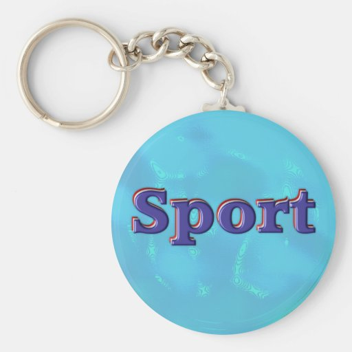 Deporte Llavero Redondo Tipo Pin