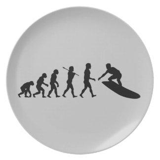 Deporte que practica surf de la persona que practi platos