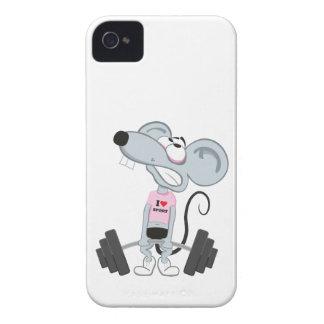Deporte ratón, deporte mouse/ funda para iPhone 4 de Case-Mate