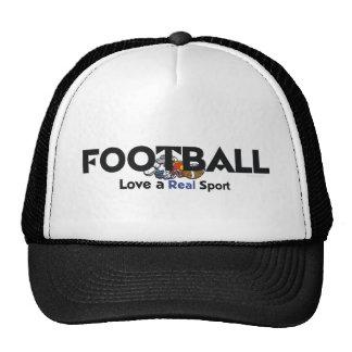 Deporte real del fútbol SUPERIOR Gorras