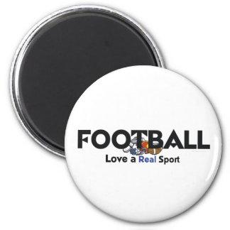 Deporte real del fútbol SUPERIOR Imán