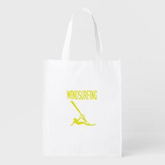 deporte windsurfing copy.png del texto amarillo v3 bolsas para la compra