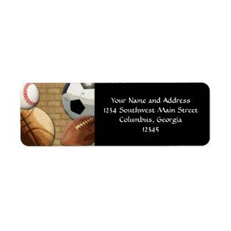 Deportes Al-Estrella baloncesto fútbol fútbol Etiquetas De Remite