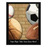 Deportes Al-Estrella, baloncesto/fútbol/fútbol Tarjetas Publicitarias