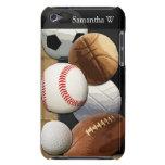 Deportes Al-Estrella, baloncesto/fútbol/fútbol Barely There iPod Cobertura