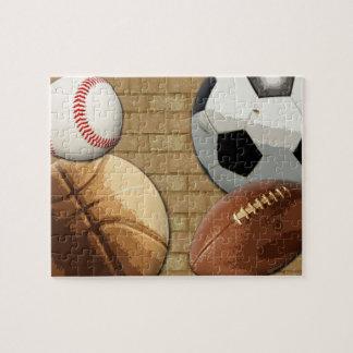 Deportes Al-Estrella, baloncesto/fútbol/fútbol Rompecabeza
