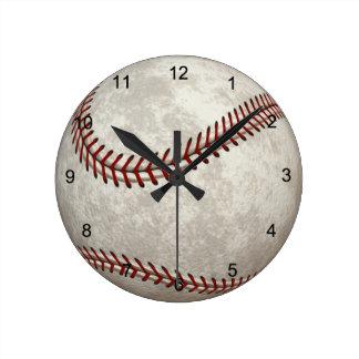 Deportes americanos del Más allá-tiempo del juego Reloj Redondo Mediano