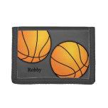 Deportes - cartera de encargo del baloncesto de lo