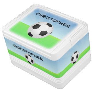 Deportes conocidos personalizados del balón de fút neverita igloo