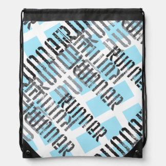 Deportes corrientes del regalo abstracto del mochila