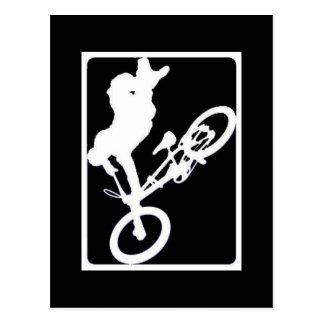 DEPORTES DE BMX TARJETA POSTAL
