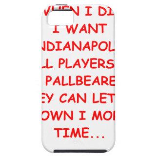 deportes de Indianapolis iPhone 5 Carcasa