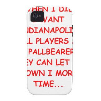 deportes de Indianapolis iPhone 4/4S Carcasa