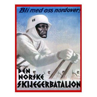 Deportes de invierno del vintage, Norske Skijegger Postal